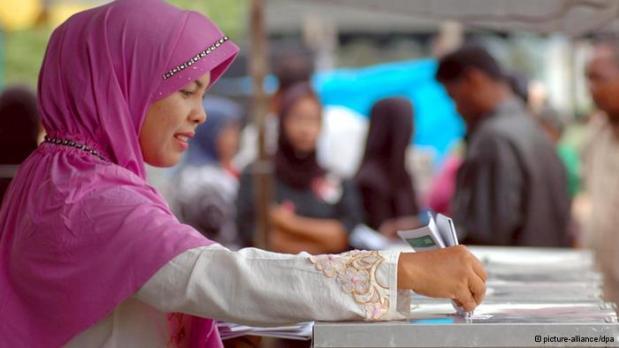 Wahlen Indonesien