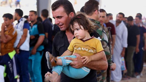 Hunderttausende sind auf der Flucht