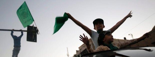 Ceasefire celebration in Gaza