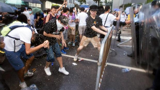 Demos in Hongkong