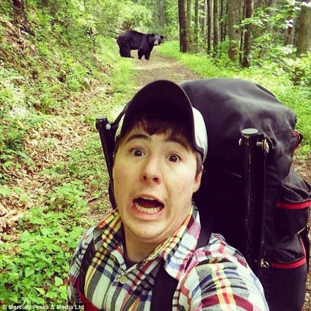 Bären Selfie