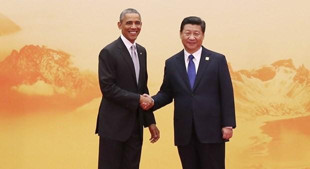 Barack Obama und Xi Jinping