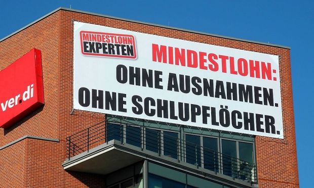 06062014 Berlin Friedrichshain Kreuzberg verdi Zentrale fuer Mindestlohn