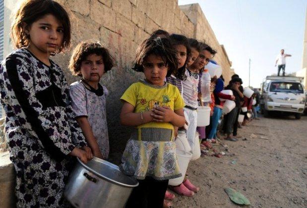 Flüchtlinge Syien