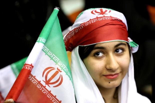 Iranerinnen im Sportstadion