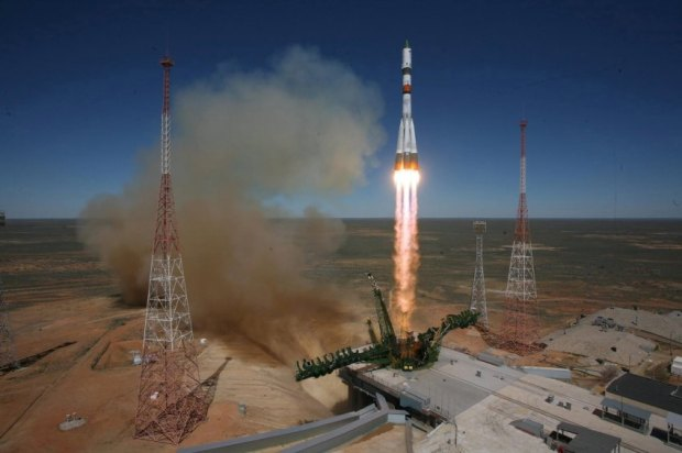 The Progress M-27M cargo ship  launched from Baikonur cosmodrome
