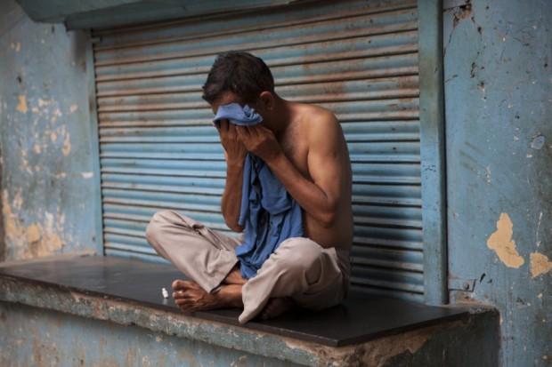 Hitzewelle Indien
