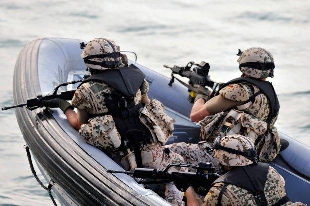 Militäreinsatz gegen Schleuser