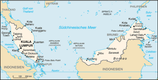 Strasse von Malacca