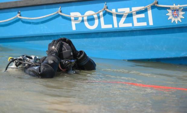 Taucher Polizei