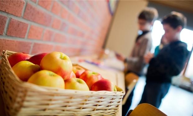 Äpfel an Schulen
