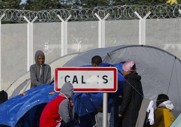 Fluechtlinge Calais