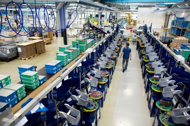 Lego-Fabrik