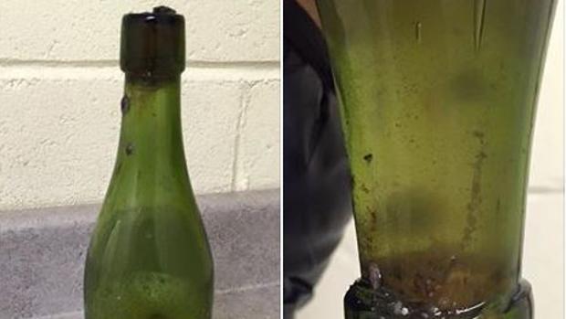 taucher-entdeckt-120-jahre-altes--trinkbares--bier-image