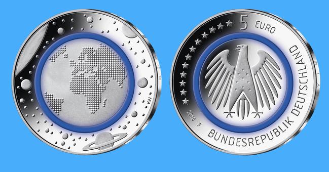 Neue 5 Euro Münze In Deutschland